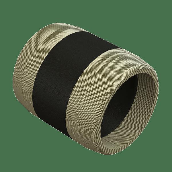 Fabric Reinforced Packer Element.